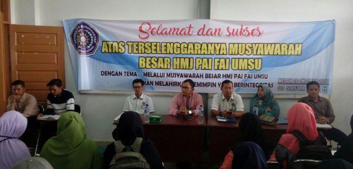 MUBES HMJ PAI FAI UMSU P. A. 2016 -2017